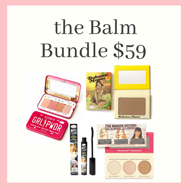 BUNDLE SALE $59  - theBalm Kit 1 - Valued at $114