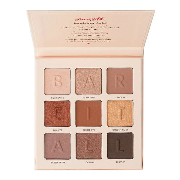 Barry M Bare it All Eyeshadow Palette