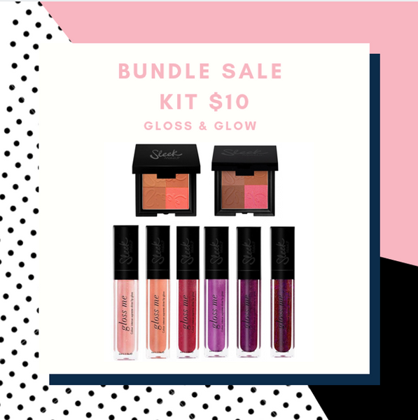 BUNDLE SALE - GLOSS &  GLOW KIT   ( valued at $129)