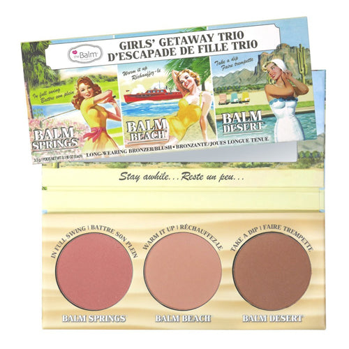 Girls Getaway Trio Cheek Palette