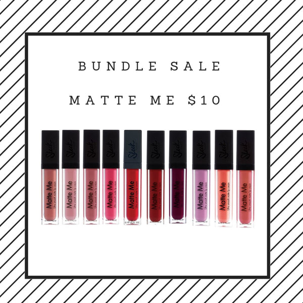BUNDLE SALE - MATTE ME LIP KIT - $10  ( valued at $149)