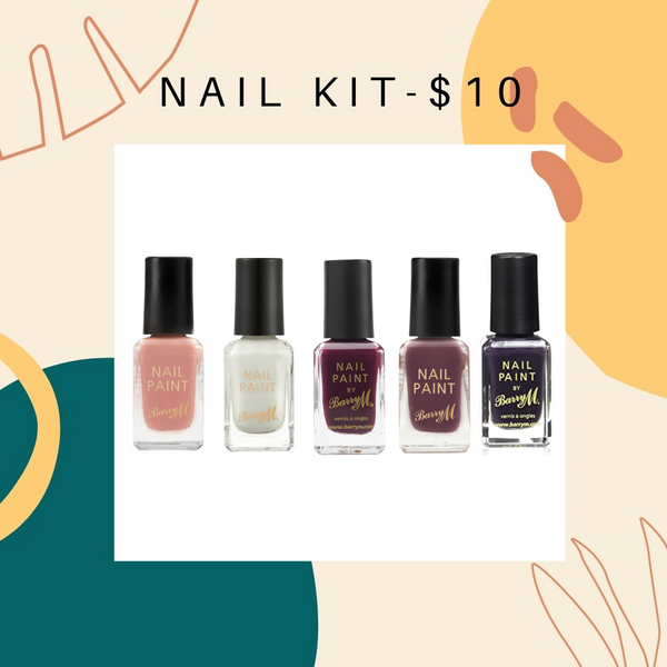 BUNDLE SALE- BARRY M WINE NAIL KIT -$10