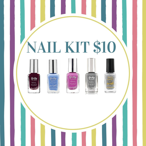 BUNDLE SALE - BARRY M CANDY NAIL KIT -$10