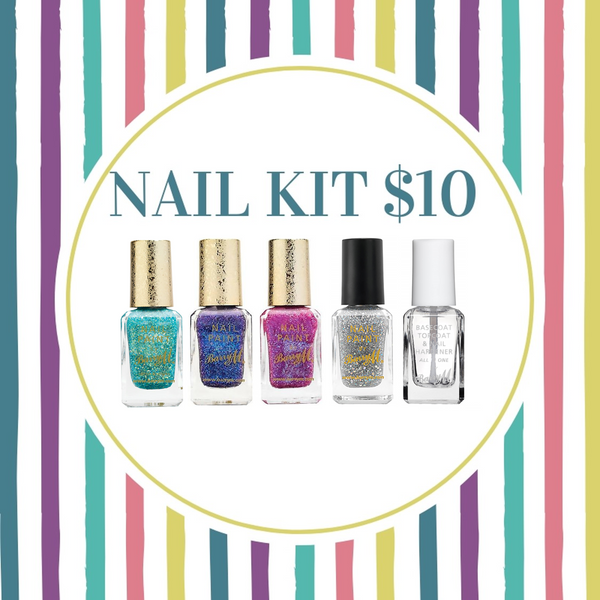 BUNDLE SALE - BARRY M SPARKLE KIT 1. $10