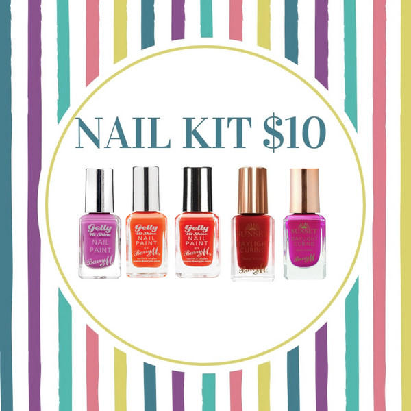 BUNDLE SALE - BARRY M NAIL KIT 3 -  BRIGHTS  $10