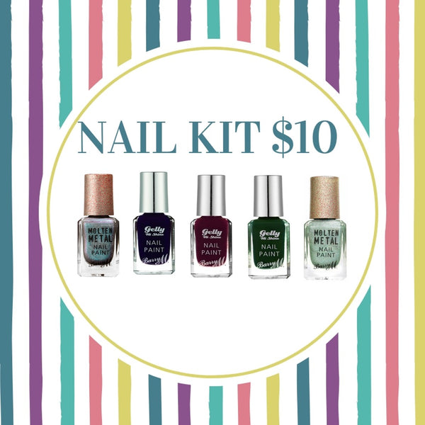 BUNDLE SALE - BARRY M CLASSIC NAIL KIT -$10
