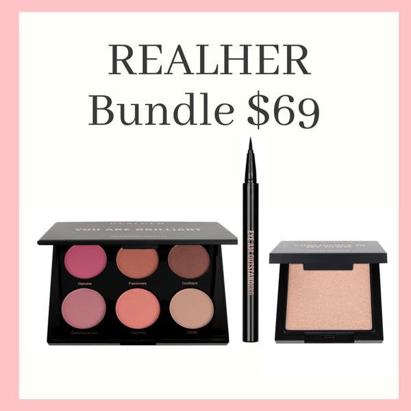 BUNDLE SALE -REALHER MAKEUP  KIT 2 - $69