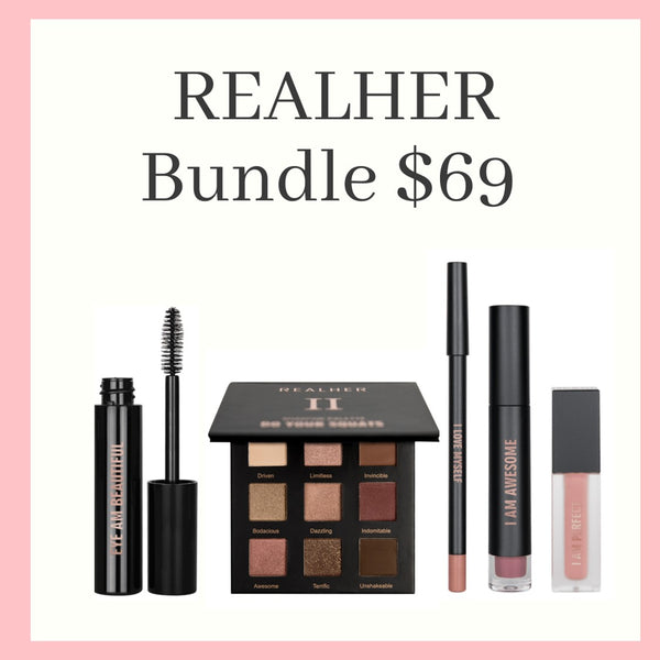 BUNDLE SALE -REALHER MAKEUP  KIT 1 - $69