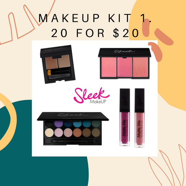BUNDLE SALE -SLEEK MAKEUP  20 for $20