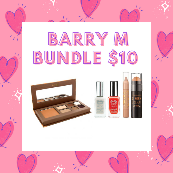 BUNDLE SALE - Barry M  $10 Bundle - Weekend Glow!