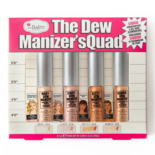 The Dew Manizer's Quad Liquid Highlighter - HOT OFFER $10
