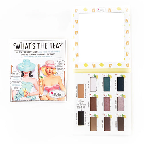 What's the Tea? Iced Tea Eyeshadow Palette