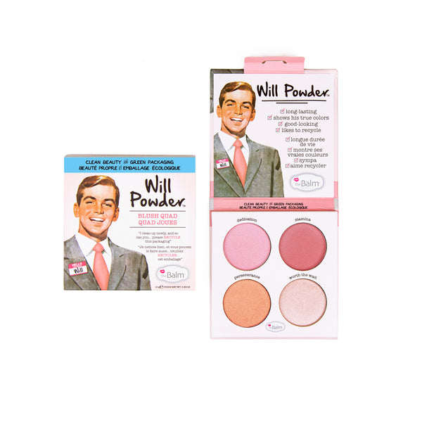 Will Powder Blush Quad