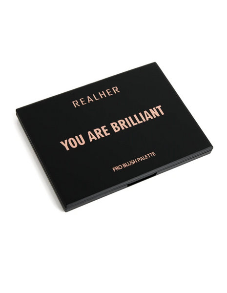 "REALHER  ""YOU ARE BRILLIANT"" PRO BLUSH PALETTE"