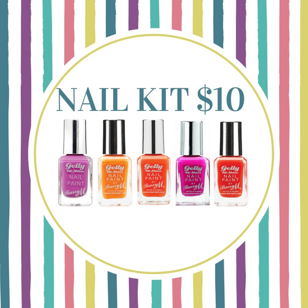 BUNDLE SALE - BARRY M NAIL KIT 2 -  BRIGHTS  $10