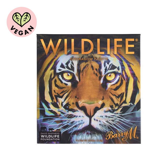 WILDLIFE Eyeshadow Charity Palette - TIGER