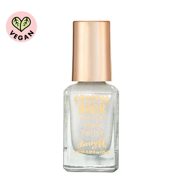 Crystal Rock Textured Nail Paint White Moonstone