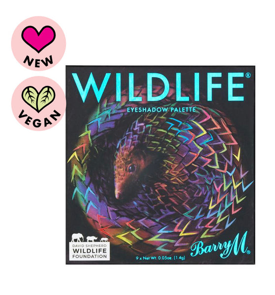 WILDLIFE Eyeshadow Charity Palette - Pangolin