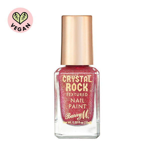 Crystal Rock Textured Nail Paint Pink Tourmaline