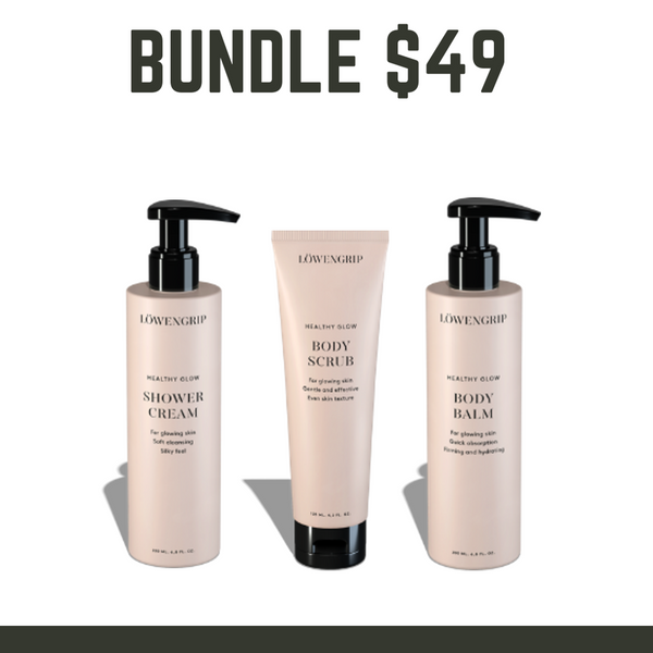 BUNDLE SALE $49 - LOWENGRIP  Body Glow Kit - Valued at $117