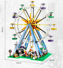Load image into Gallery viewer, Building Blocks City Expert Ferris Wheel Creator Streetview