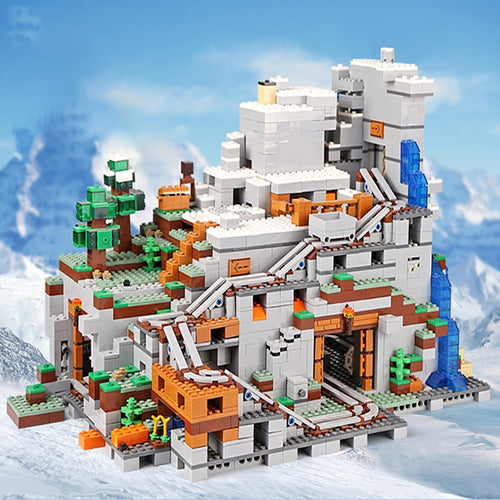 Building Blocks Bricks The Mountain Cave My World