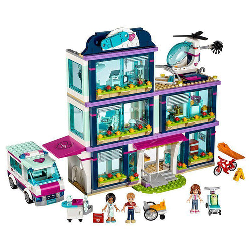 Building Block 1091pcs Heartlake City Park Hospital