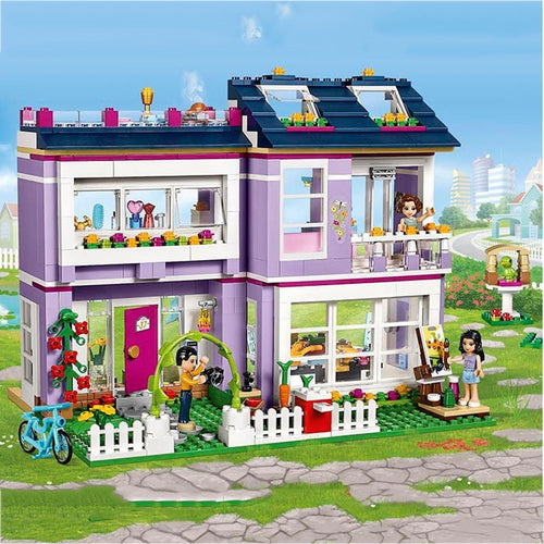 Building Blocks 731pcs Emma's House Friends