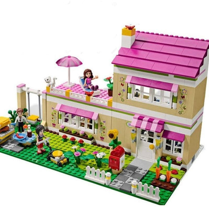 Building Blocks 695pcs Olivia's House Friends