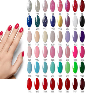 Acrylic Nail kit Set Fall nail with Led Nail Lamp 120W
