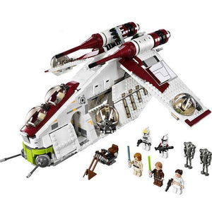 Building Blocks 1175pcs Republic Gunship Toy
