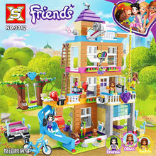 Load image into Gallery viewer, Building Blocks 730Pcs Friendship House Set