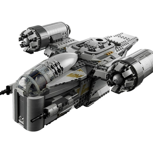 Building Blocks 1023Pcs Razor Crest Star Fighter War Toy