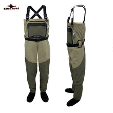 Load image into Gallery viewer, Chest Waders for fly fishing breathable