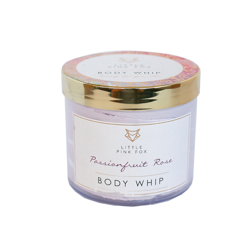 Vegan Body Whip - Passionfruit Rose