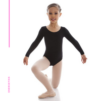 Jesse Long Sleeve Scoop Leotard CL03