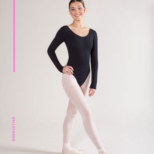 Jesse Long Sleeve Scoop Leotard AL03