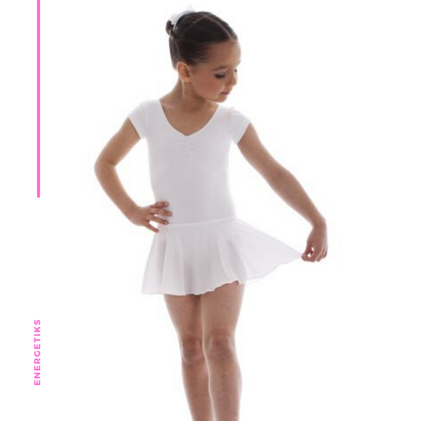 Florence Leotard Cap Sleeve with Skirt CL07 (Wholesale)
