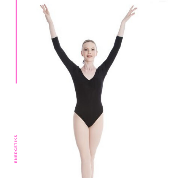 Mara  Leotard 3/4 Sleeve AL08