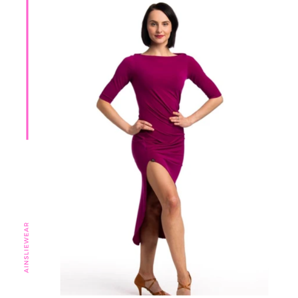 La Passe Boatneck Dress - AW-B500 (Wholesale)