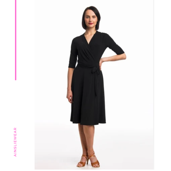 Waltz Wrap Dress - AW-B501