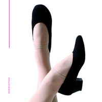 Canvas Character Shoe - Cuban Heel CSA06
