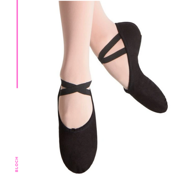 Ballet Shoe - Pump Canvas Split Sole C S0277L