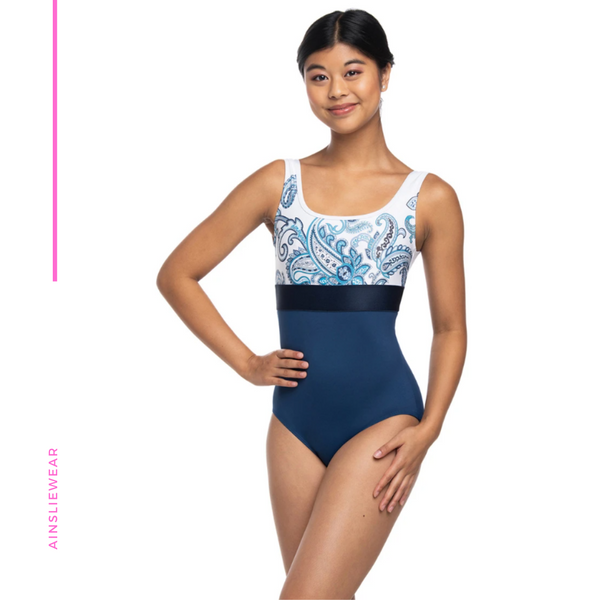 Manon with Paisley Print Leotard AW1071PA