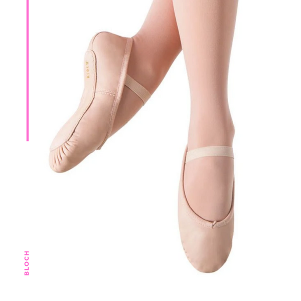 Ballet Shoe - Dansoft Leather Full Sole S0205G