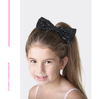Sequin Bow Medium HB11