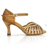 Selena Tan Latin Shoes