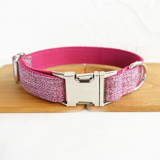 Pink Pets Collar Personalized
