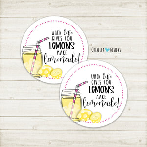 Printable - When Life Gives you Lemons, Make Lemonade - Instant Digital Download