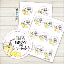 Load image into Gallery viewer, Printable - When Life Gives you Lemons, Make Lemonade - Instant Digital Download